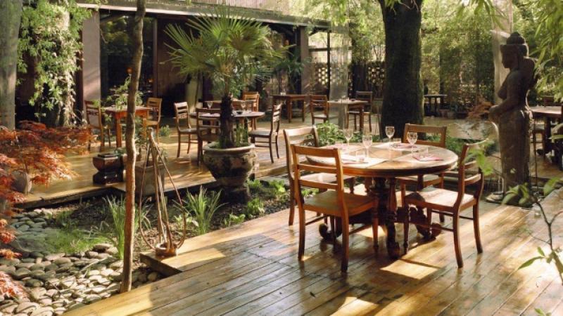 Shambala, a Milano il ristorante fusion asiatico con giardino zen
