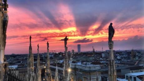 Tramonto Sulle Terrazze Del Duomo Di Milano Orari E