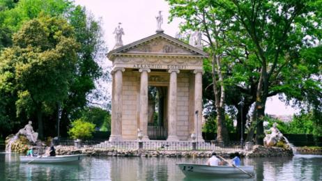 Dove Porto I Bambini Roma Villa Borghese Dal Pincio Alla