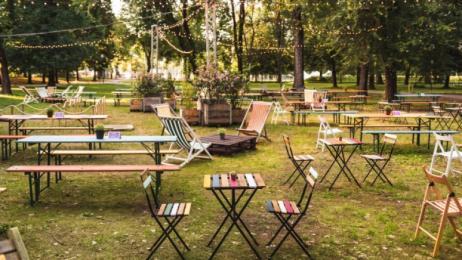 Preferenza Ristoranti con giardini e terrazze all'aperto? 10 nuovi posti dove EF84