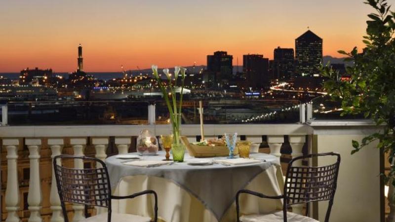 Estate a Genova? Al Grand Hotel Savoia cena in terrazza e spazio ...
