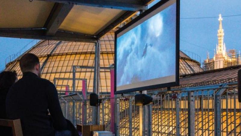 Cinema sui tetti della galleria a Milano: il programma dell\'estate 2018