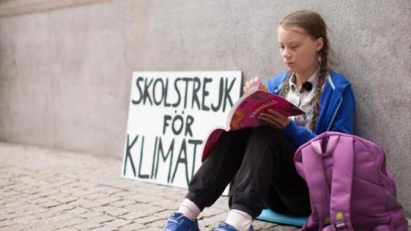 Greta Thunberg a Roma: incontra il Papa, va in Senato e sciopera in ...