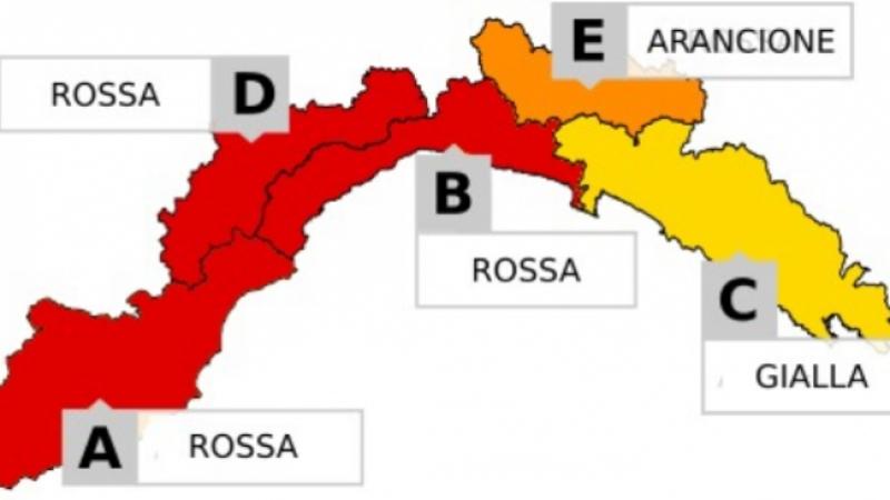 Allerta meteo rossa su Genova e il Ponente nel weekend: orari ...