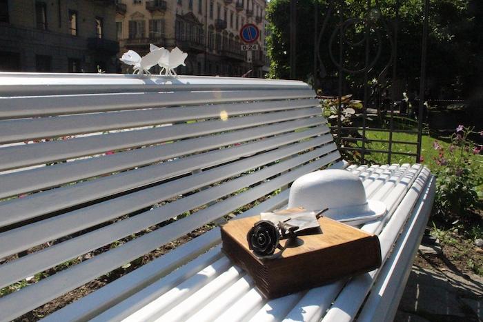 Panchina Con Lampioni Seduti : Panchina parco foto royalty free immagini immagini e archivi