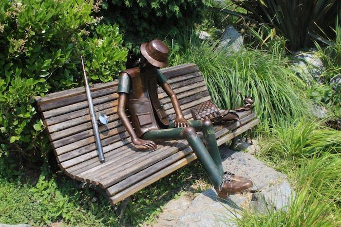 Panchina Con Lampioni Seduti : Lampioni innamorati a torino luogo