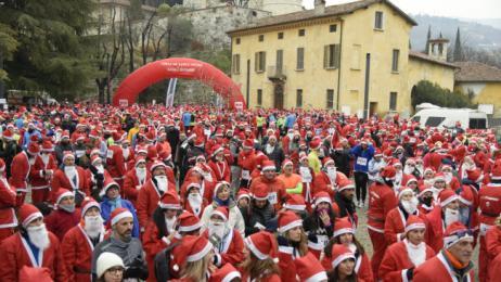 Babbo Running Brescia 2019, la corsa dei Babbi Natale