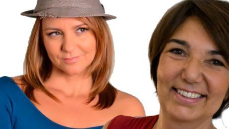 Alessandra Ierse e Nadia Puma in Ne vedrete delle belle... per dire! -  Milano